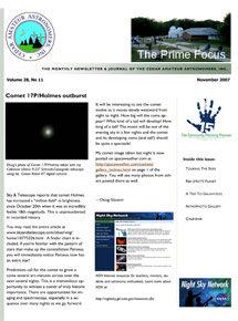 Prime Focus newsletter